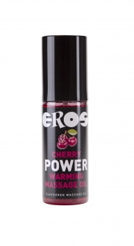 EROS Cherry Power Warming Massage Oil 100ml