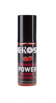 EROS Strawberry Power Warming Massage Oil 100ml