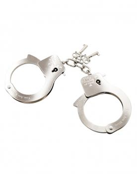 You. Are. Mine. Metal Handcuffs - Fifty Shades of Grey
