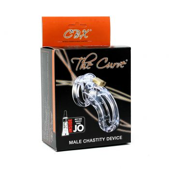 Male Chastity The Curve clear - CB-X