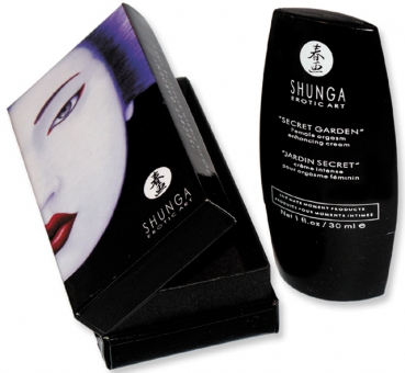 Shunga orgasmic cream secret garden 30ml