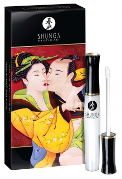 Shunga divine oral pleasure gloss Sparkling Strawberry Wine - Shunga