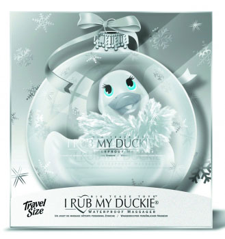 I Rub My Holiday Duckie Travel Paris Weiss - Big Teaze Toys