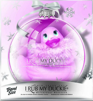 I Rub My Holiday Duckie Travel Paris Rose - Big Teaze Toys