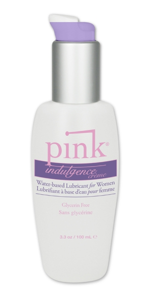 Pink Indulgence Creme Waterbased Lubricant for Woman 100ml