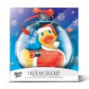 I Rub My Holiday Duckie Santa - Big Teaze Toys